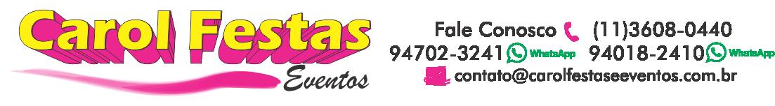 Carol Festas e Eventos Logo